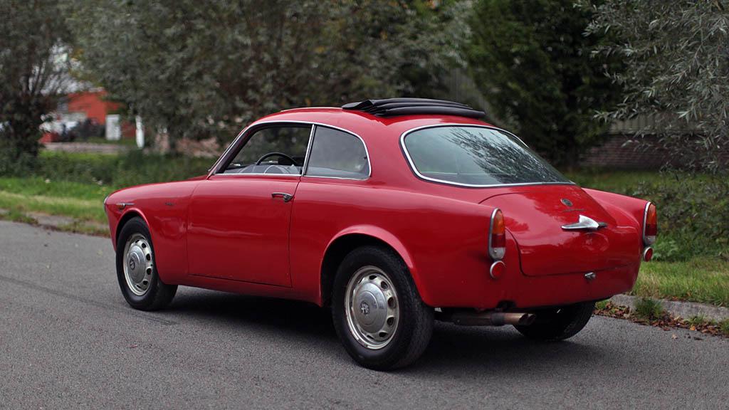 Tachyon Motorsport 1959 Alfa Romeo Giulietta Sprint